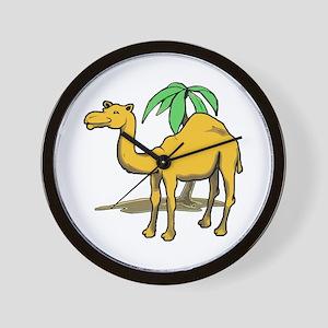 Cute camel Wall Clock