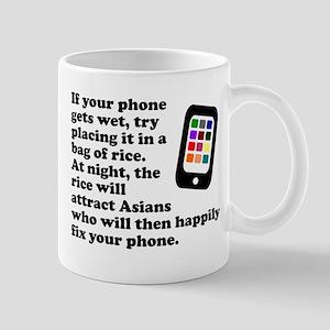 Wet Cellphone Mug