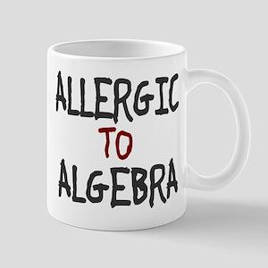 Allergic To Algebra Mug