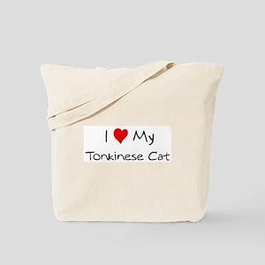 Love My Tonkinese Cat Tote Bag