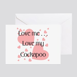 Cockapoo greeting cards cafepress love my cockapoo greeting cards package m4hsunfo