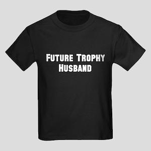 Future Trophy Husband Kids Dark T-Shirt