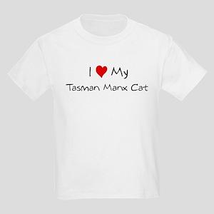 Love My Tasman Manx Cat Kids T-Shirt
