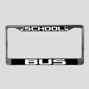 School Bus License Plate Frame