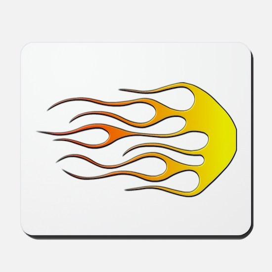 Cool Car Flames Mousepad