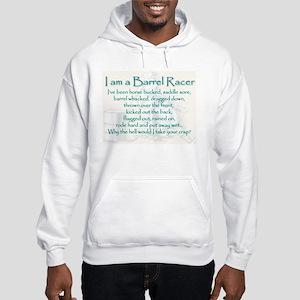 I am a Barrel Racer Hoodie