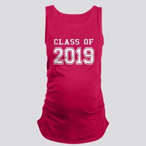 Class of 2019 (White) Maternity Tank Top