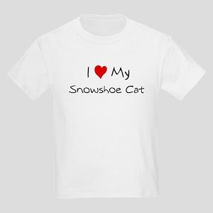 Love My Snowshoe Cat Kids T-Shirt