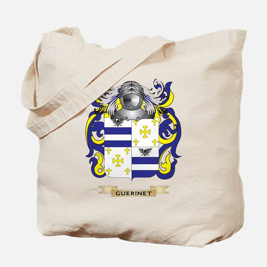 Guerinet Coat of Arms (Family Crest) Tote Bag