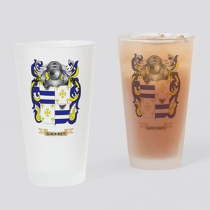 Guerinet Coat of Arms (Family Crest) Drinking Glas