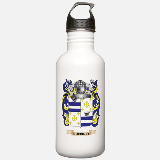 Guerinet Coat of Arms (Family Crest) Water Bottle