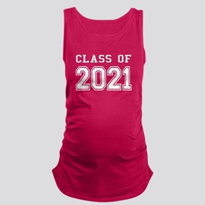 Class of 2021 (White) Maternity Tank Top
