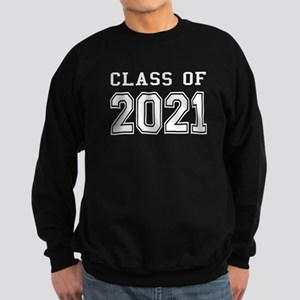 Class of 2021 (White) Sweatshirt (dark)