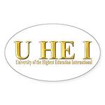 U HE I -Royal Gold Sticker