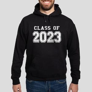 Class of 2023 (White) Hoodie (dark)