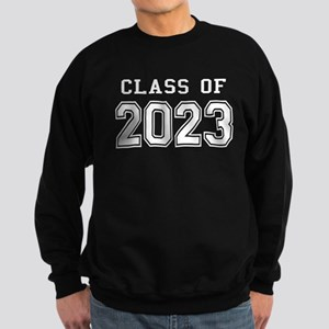 Class of 2023 (White) Sweatshirt (dark)