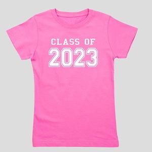 Class of 2023 (White) Girl's Tee