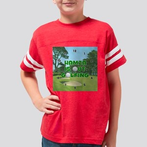 M601GR-Hamza Youth Football Shirt