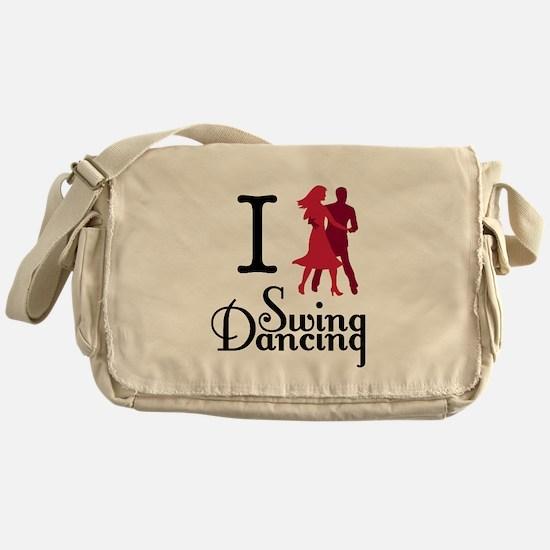 I (dance) Swing Messenger Bag