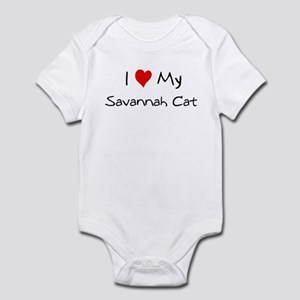 Love My Savannah Cat Infant Bodysuit