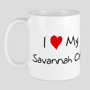 Love My Savannah Cat Mug