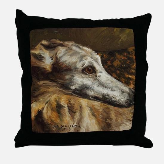 Greyhound Throw Pillow