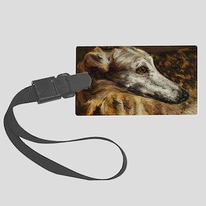 Greyhound Large Luggage Tag