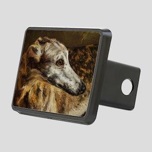 Greyhound Rectangular Hitch Cover
