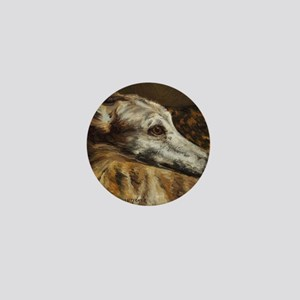 Greyhound Mini Button