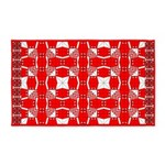 Red Owls 3'x5' Area Rug