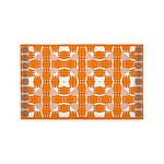 Orange Owls 3'x5' Area Rug