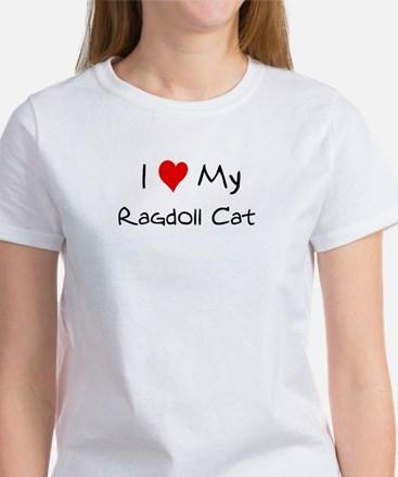 Love My Ragdoll Cat Women's T-Shirt