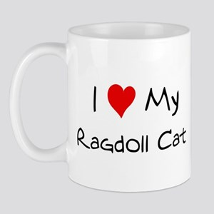 Love My Ragdoll Cat Mug