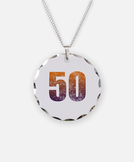 Cool 50th Birthday Necklace