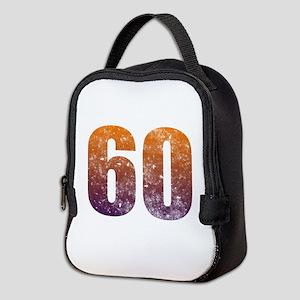 Cool 60th Birthday Neoprene Lunch Bag
