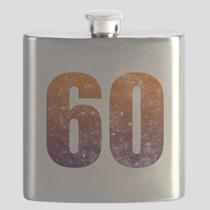 Cool 60th Birthday Flask