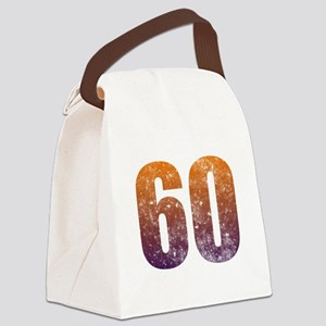 Cool 60th Birthday Canvas Lunch Bag