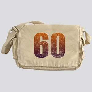 Cool 60th Birthday Messenger Bag
