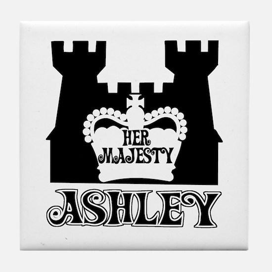Her Majesty Ashley Tile Coaster