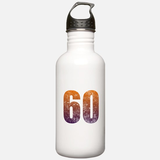 Cool 60th Birthday Water Bottle