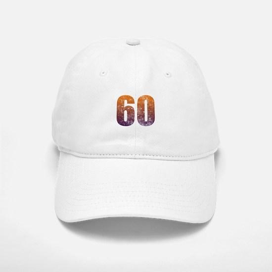 Cool 60th Birthday Baseball Baseball Cap