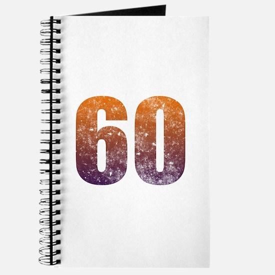 Cool 60th Birthday Journal