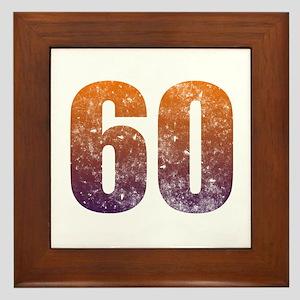 Cool 60th Birthday Framed Tile