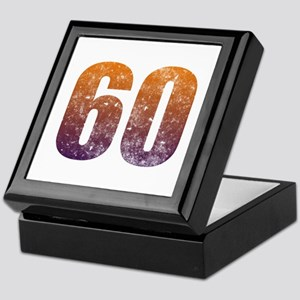 Cool 60th Birthday Keepsake Box