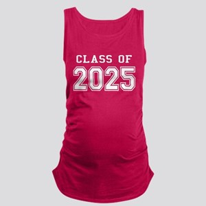Class of 2025 (White) Maternity Tank Top