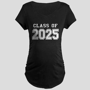 Class of 2025 (White) Maternity Dark T-Shirt