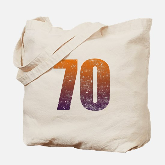 Cool 70th Birthday Tote Bag