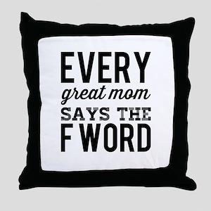 GreatMoms Throw Pillow