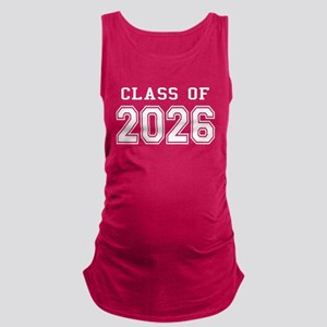 Class of 2026 (White) Maternity Tank Top