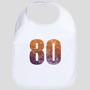 Cool 80th Birthday Bib